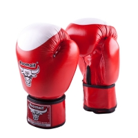 Боксерские перчатки RBG-100 Кожа Red
