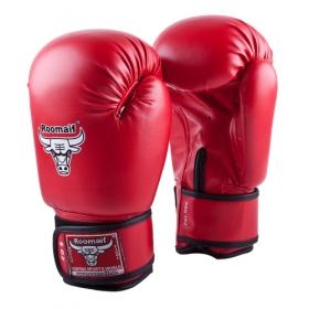 Боксерские перчатки RBG-102 Кожа Red