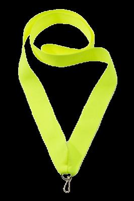 Лента для медалей ярко-желтая, ширина 22 мм.