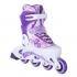 Раздвижные роликовые коньки Venera Violet