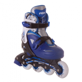 Раздвижные роликовые коньки Dream blue
