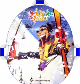 Ледянка мягкая Snowkid 50 см. Sport