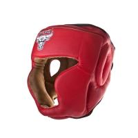 Шлем боксерский RHG-140 PL красный