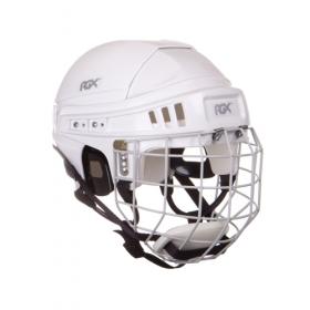 Шлем игрока хоккейный с маской RGX белый
