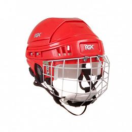 Шлем игрока хоккейный с маской RGX красный