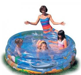 Бассейн надувной круглый, 150x53см 51045