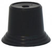Цоколь пластиковый, черный.