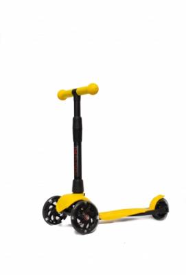 Самокат АЛЬФА (Buggy Boom Alfa Model)  2127 желтый