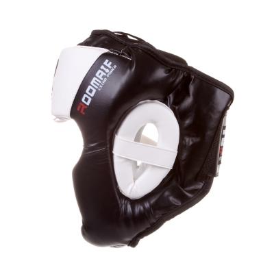 Шлем боксерский RHG-150 PL черно-белый
