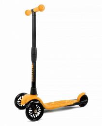 Самокат АЛЬФА (Buggy Boom Alfa Model) 0190 оранжевый апельсин
