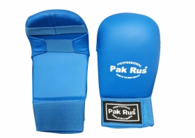 Перчатки для каратэ PR-09-002 синие