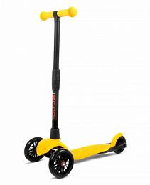 Самокат АЛЬФА (Buggy Boom Alfa Model) 0191 желтый лимон