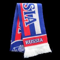 Шарф Россия синий RUS051