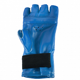 Шингарды Е040 (иск. кожа) синие