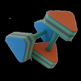 Аквагантели треугольные