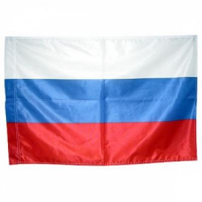 """Флаг """"Россия"""" 135х90 см (без флагштока)."""
