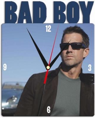 """Металлические часы """"BAD BOY"""" под нанесение 192x243 мм."""