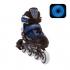 Раздвижные роликовые коньки Atom Blue