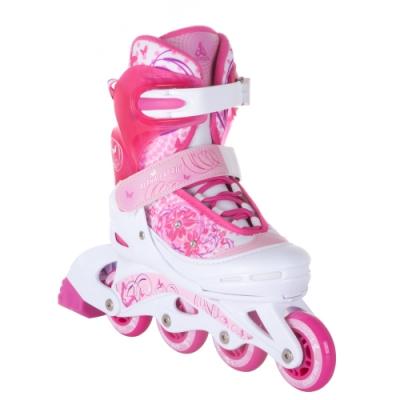 Раздвижные роликовые коньки Venera Pink