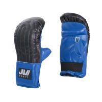 Снарядные перчатки Е039 (иск. кожа) синие