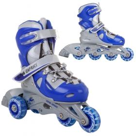 Раздвижные роликовые коньки TEDDY blue