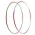 Обруч гимнастический Al двухцветный D=900 мм. 360 гр.