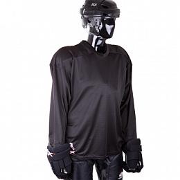Джемпер хоккейный тренировочный HS-07 black Junior