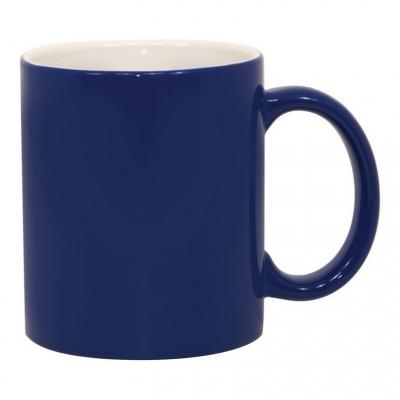 Кружка хамелеон Премиум синяя меняющая цвет под сублимацию