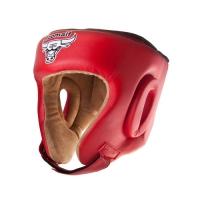 Шлем боксерский RHG-146 PL красный