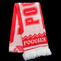 Шарф Россия красный RUS050