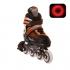 Раздвижные роликовые коньки Atom Orange