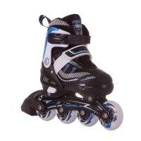 Раздвижные роликовые коньки Nova black/blue