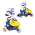 Раздвижные роликовые коньки CASPER blue