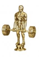 Фигурка пластиковая тяжелая атлетика - 2.