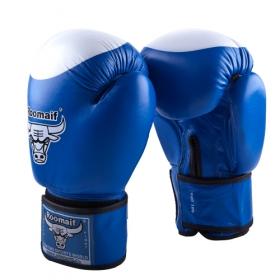 Боксерские перчатки RBG-100 Кожа Blue
