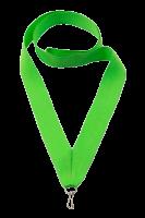 Лента для медалей салатовая, ширина 22 мм.