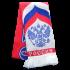 Шарф с синим орлом с белым щитом RUS048