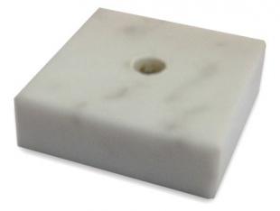 Цоколь мраморный (белый)