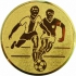 Эмблема для медалей самоклеющаяся футбол.