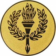 Эмблема для медалей самоклеющаяся Факел.