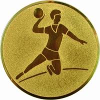 Эмблема для медалей самоклеющаяся Гандбол.