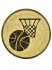 Эмблема для медалей самоклеющаяся Баскетбол.