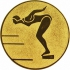Эмблема для медалей алюминиевая А12 Плавание (ж).