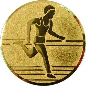 Эмблема для медалей алюминиевая А30 Легкая атлетика/бег/многоборье