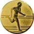 Эмблема для медалей самоклеющаяся Бег (м).