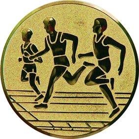 Эмблема для медалей самоклеющаяся Бег 2(м).