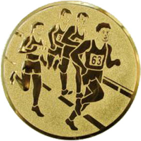 Эмблема для медалей самоклеющаяся Бег 3(м).