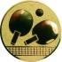 Эмблема для медалей самоклеющаяся Настольный теннис.