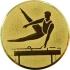 Эмблема для медалей самоклеющаяся Гимнастика (М).