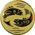 Эмблема для медалей алюминиевая А56 Рыболовный спорт.